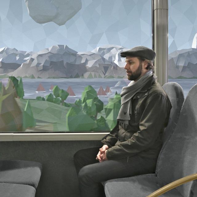 Hafzoo boards the bus